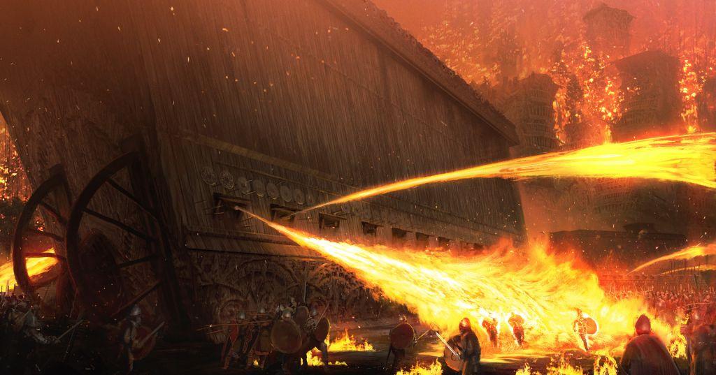 Греческий огонь: византийское «ноу-хау»?